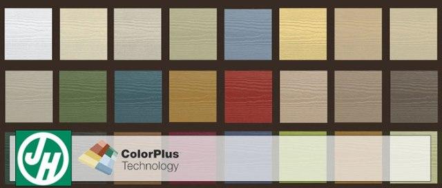 hardie colorplus technology